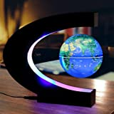 Anti Gravity Levitation Globe Magnetic Floating World Map with Colored LED Light