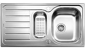 Blanco Lanis 6 S EdelstahlSpüle Bürstfinish Küchenspüle Spültisch Einbauspüle  BaumarktKundenberichte und weitere Informationen