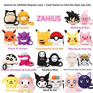 Designed for Kids Girl and Boys ZAHIUS Airpods Pro Silicone Case Funny Cover Compatible for Apple Airpods Pro Piglet 3D Cartoon Pattern