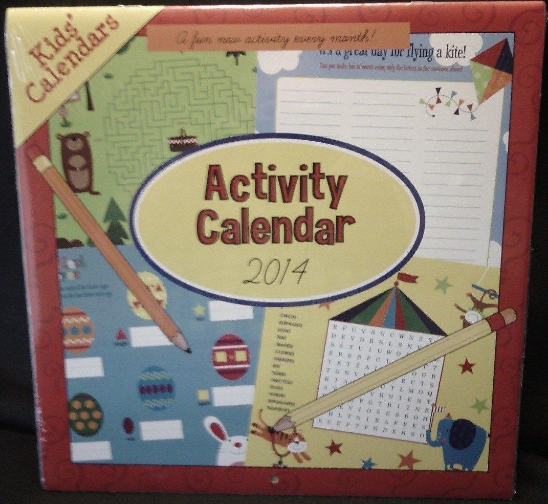 Activity Calendar for Kids 2014