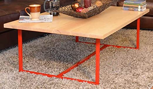 Coffee Table with Wood Top