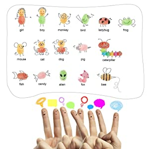 Ink Pads, GYORGKSHI Washable Ink Stamp Pads for Kids, Craft Scrapbooking Stamp Pads for Rubber Stamps, Paper, Fabric (16 Colors) (Tamaño: 16 Colors)