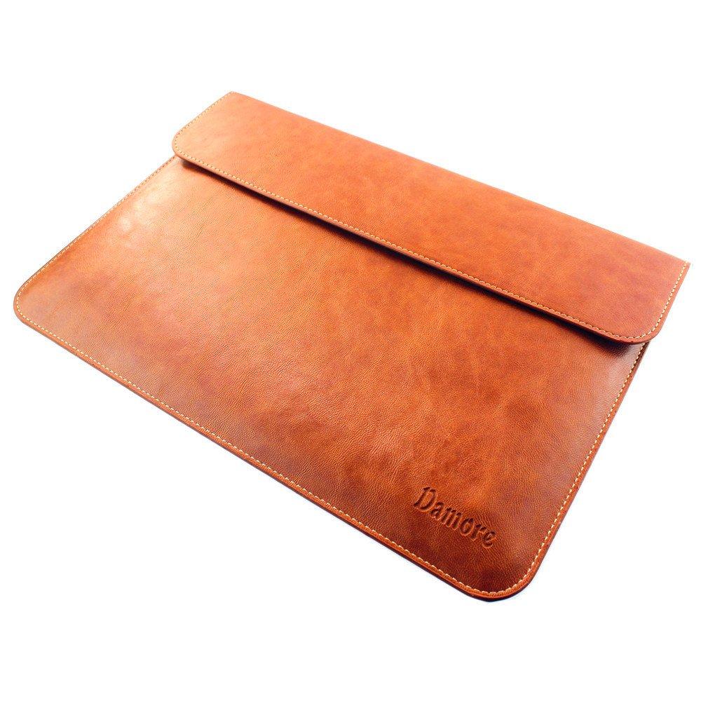macbook air 13 macbook pro 13 retina leather sleeve case brown laptop case ebay. Black Bedroom Furniture Sets. Home Design Ideas