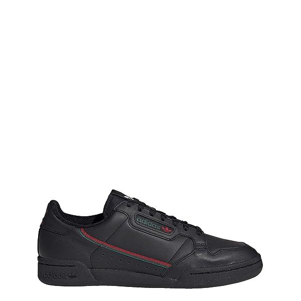 adidas Continental 80 Shoes Men's, Black, Size 8 (Color