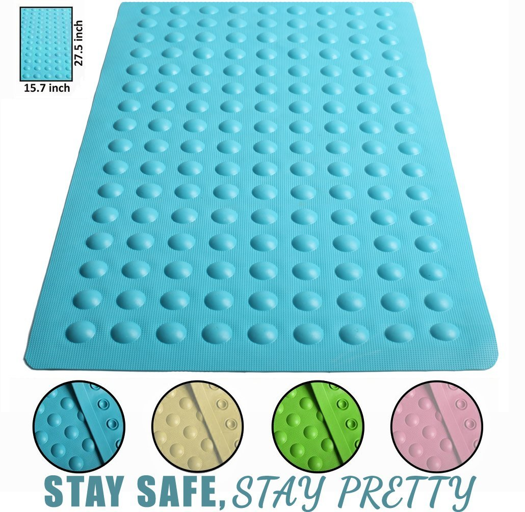 Luxury Anti Slip Suction Bath Mat Non Slip Mats For Tub