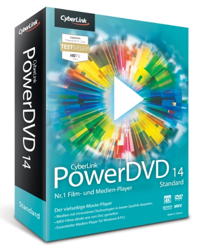 CyberLink PowerDVD 14 Standard [import allemand]