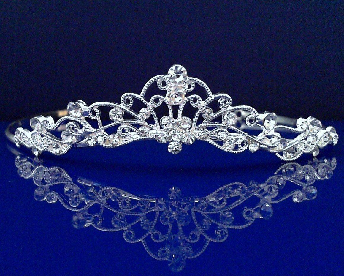 SC Wedding Tiara headband 10037