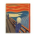 Pinsanity The Scream by Edvard Munch Enamel Lapel Pin (Color: Multi, Tamaño: 1.75 inch)