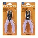 Fiskars 1/4 Inch Circle Hand Punch (2 Pack) (Tamaño: 2Pack Circle)