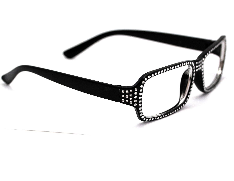 Sexy Damen Brille Anneliese Style mit Strass – Der Neue Trend und Party Look für die Atzen Girls – Ohne Glass und Contenance jetzt bestellen