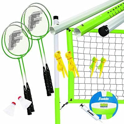 Volleyball & Badminton Set