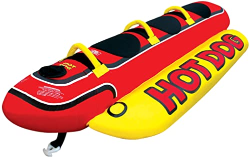 3 Person Inflatable Hot Dog Tube