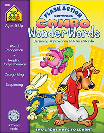 Flash Action Software Combo Wonder Words: Beginning Sight Words & Picture Words written by Joan Hoffman