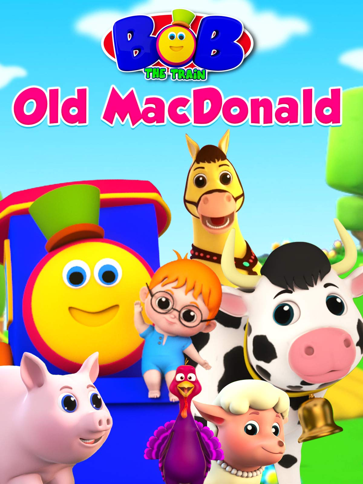 Old Macdonald - Bob The Train