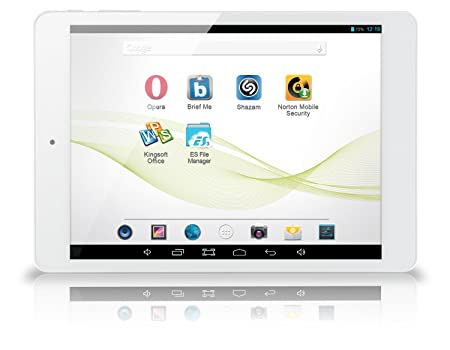 """Memup SLIDEPAD ELITE 785I Tablette Tactile 7,85"""" (19,94 cm) Intel Core Duo Clover Trail + Dual Core Z2580 Hyper Threading 2 GHz 16 Go Android Jelly Bean 4.2.2 Wi-Fi Blanc"""