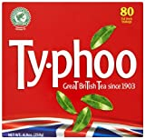 Typhoo Foil Fresh 80 Teabags (Pack of 6, Total 480 Teabags)