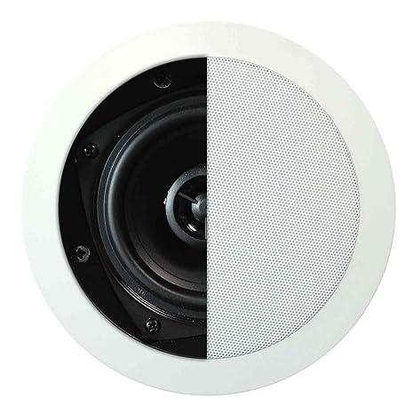 """Artsound Basic Encastrables MDC501 Haut-parleurs multimédia Design """"rond"""" 70W Blanc"""