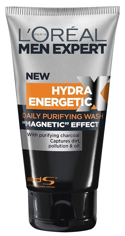LOreal Men Expert Hydra Energetic Black Charcoal Wash 150ml/5oz ...