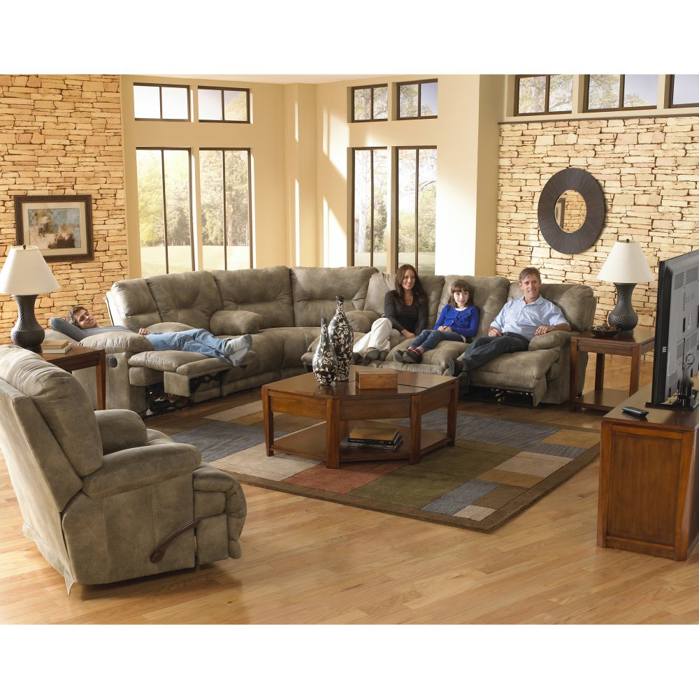 Catnapper Voyager Reclining Sectional Set -