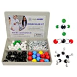 Organic Chemistry Model Kit (115 Pieces) Chemistry Set Molecular Model Kit, Atoms and Bonds with Instructional Guide - Chemistry Kit for Students, Teachers & Young Scientists (Tamaño: 115 Pieces Set)