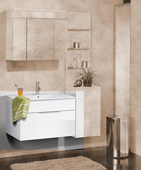 Fackelmann Kara Washbasin/Undermount White 1S