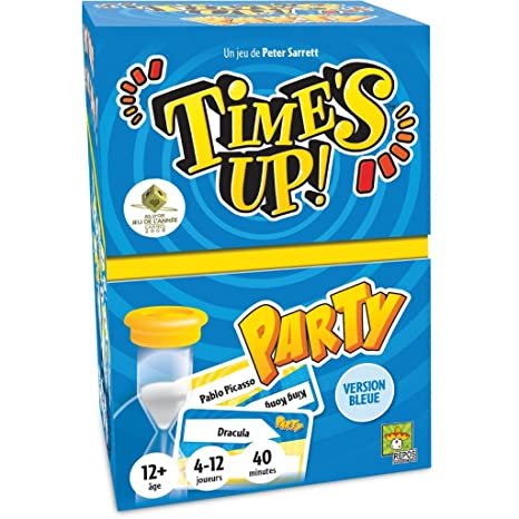 Asmodee - TUP2 - Time's Up - Party Version Bleue - Jeux d'Ambiance