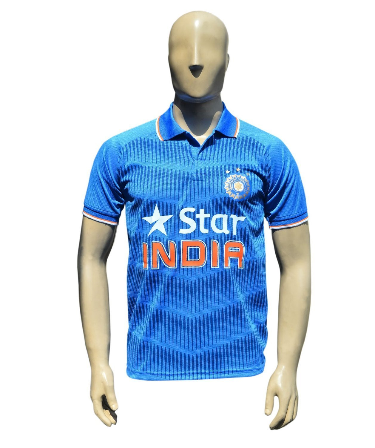Design your own t shirt india cash on delivery - Buy X3 Team India Odi Cricket Supporter Jersey 2015 Kids To Adult Sizes 26 Age 5 Years Online At Low Prices In India Amazon In