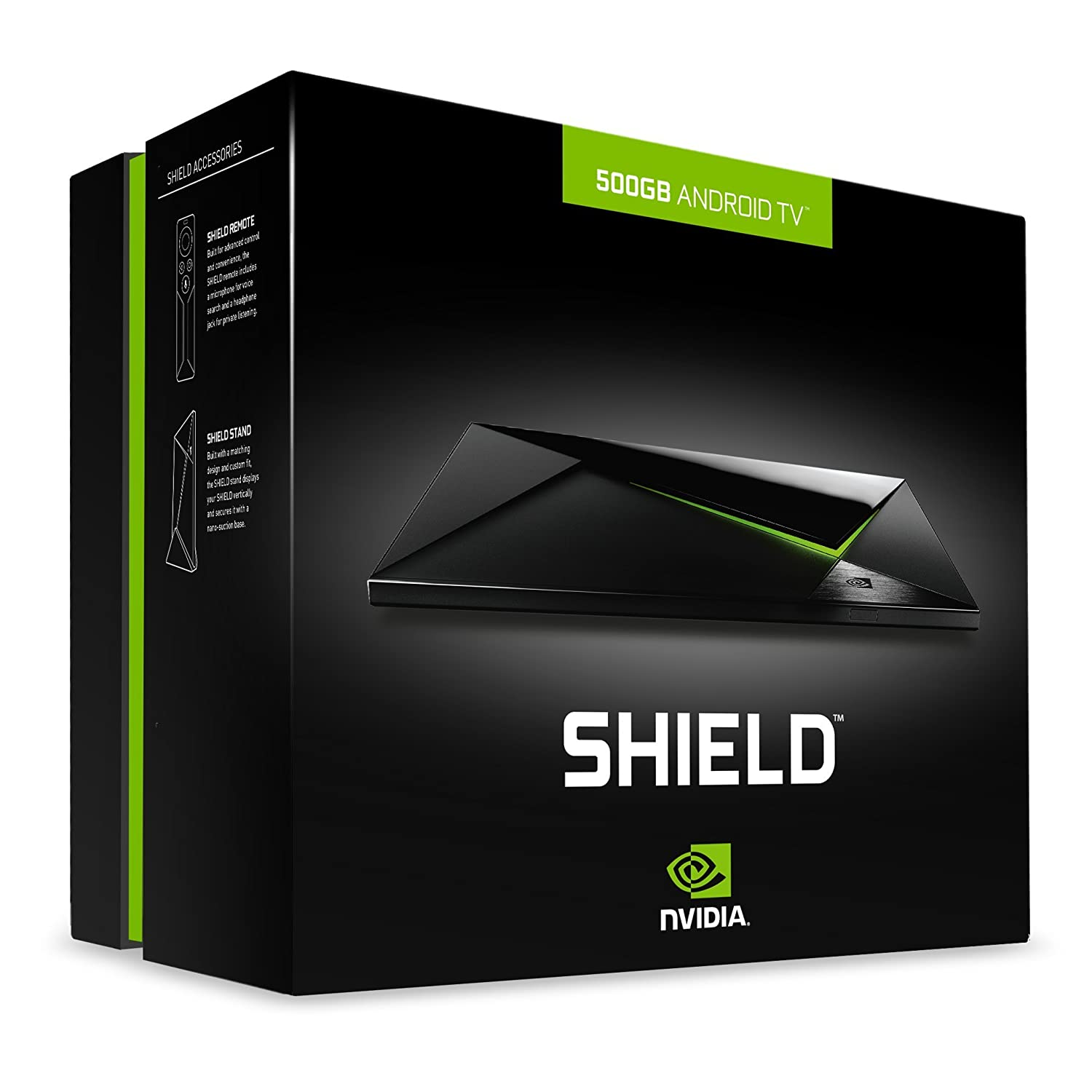 NVIDIA SHIELD Pro - 4K Streaming Media (Netflix, HBO, Kodi / XBMC).  Android TV with Chromecast.  Advanced Gaming.  4X Higher Performance (Apple TV / Roku).
