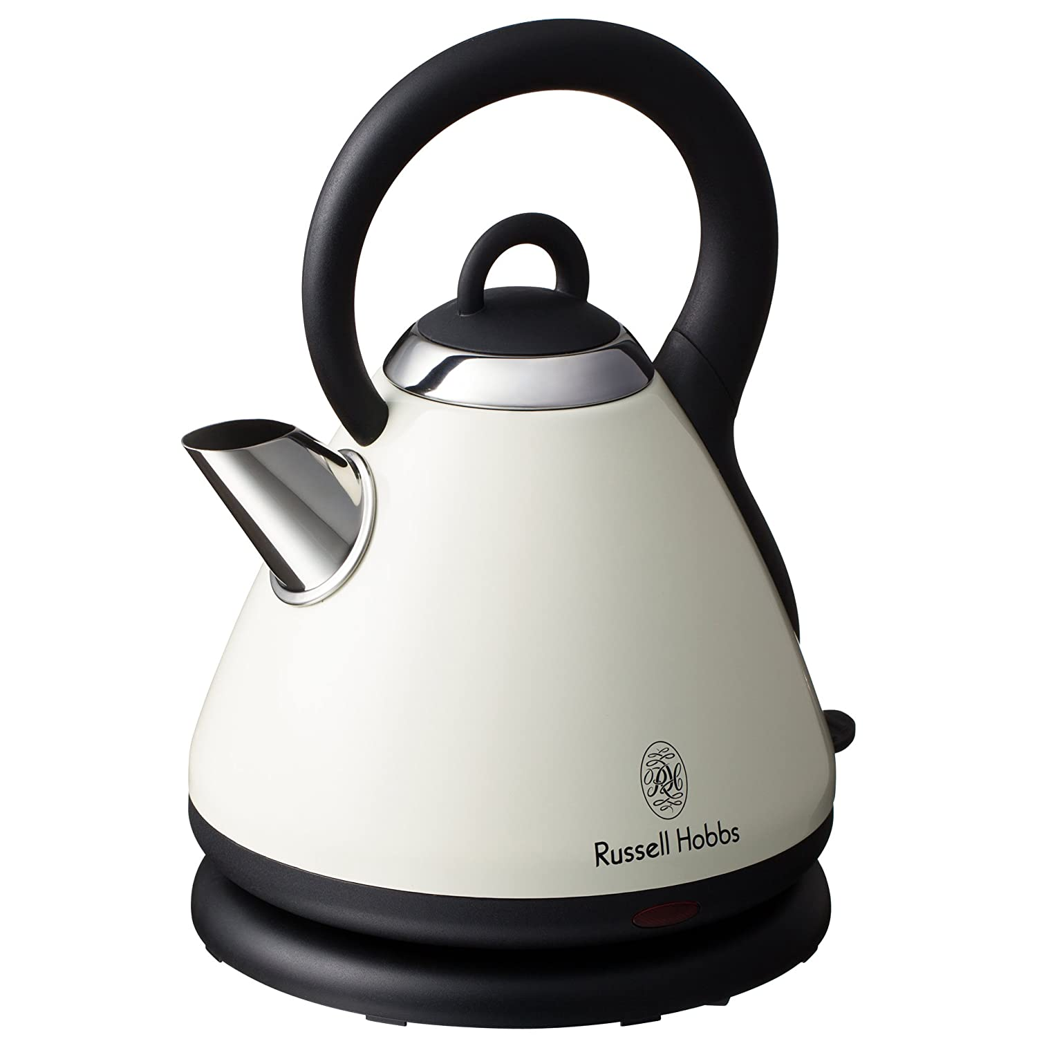 Russell Hobbs Electric Kettle ~ Kettles russell hobbs cream heritage cordless kettle was