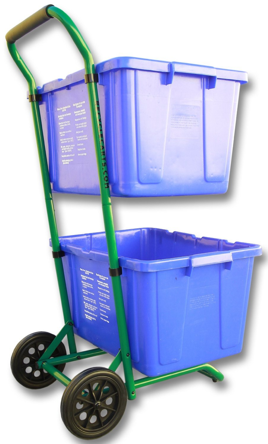 Recycle Cart Bins Trash Recycling Container Wheeled