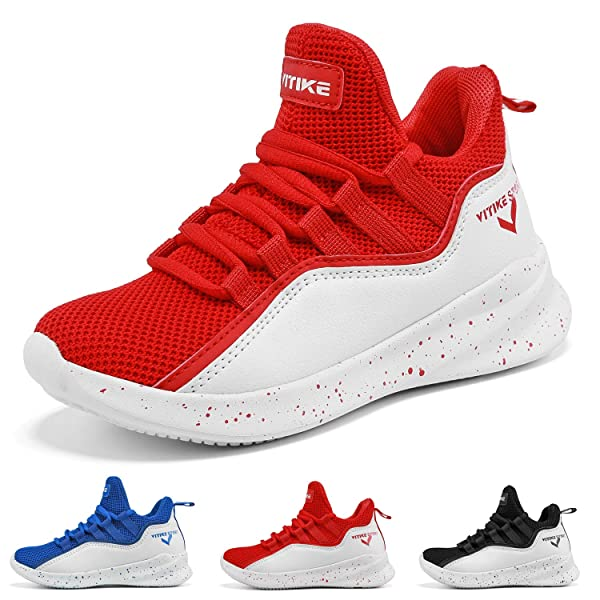 Boy/'s Kid/'s Basketball Sports Sneakers Fashion Running Shoes Little//Big Kids