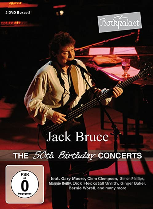 Jack Bruce – The 50th Birthday Concerts (2 DVD)