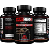 HARD HEADD Ultra Test Testosterone Booster for Men Improve Mood Stamina Endurance and Also Supports Bodybuilding and Promotes Metabolism