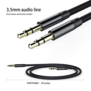 C-to 3.5mm Audio Jack Adapter, Type-c AUX Jack Cable USB-C Male to 3.5mm Female Headphone Converter with high Resolution/DAC, Audio Cable for 2 / 2XL