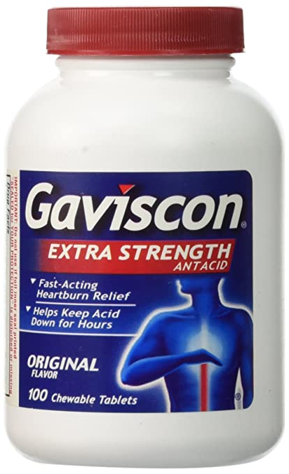 Gaviscon Extra Strength 100 Tablets