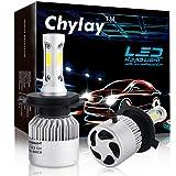 H4 LED headlight bulbs 9003 HB2 COB chips Fog Light Conversion Kit Hi/Low beam 72W 8000LM white 6500K Auto front bulb car Headlamp -2 Yr Warranty