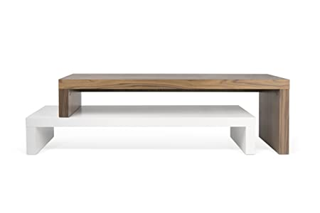 TemaHome - Mueble porta TV modelo Marbella - Mueble porta TV con cajón - Fabricado en madera - Efecto cemento - Color negro - Medidas 100x 40x 50cm