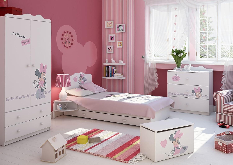 Schlafzimmer-Set Kindermöbel 'Minnie Mouse 2′ Jugendzimmer komplett Kinderzimmer kaufen
