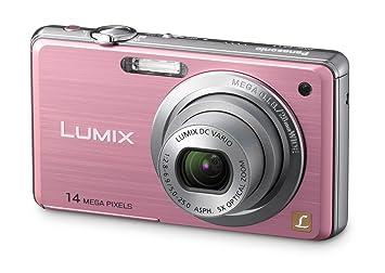 Panasonic LUMIX DMC-FZ11 EG-K Appareil photo numérique 14 Mpx zoom optique 5x écran 6,86 cm, stabilisateur d'images (Rose) (Import Allemagne)