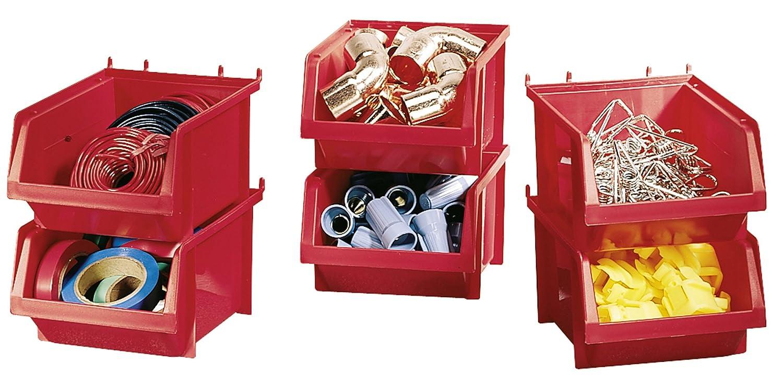 stacking bins