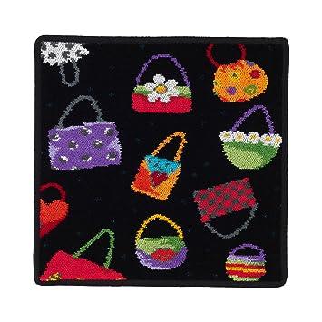 feiler cba01000040010 serviette serviette essuie mains motif sacs main noir 30 30 x. Black Bedroom Furniture Sets. Home Design Ideas