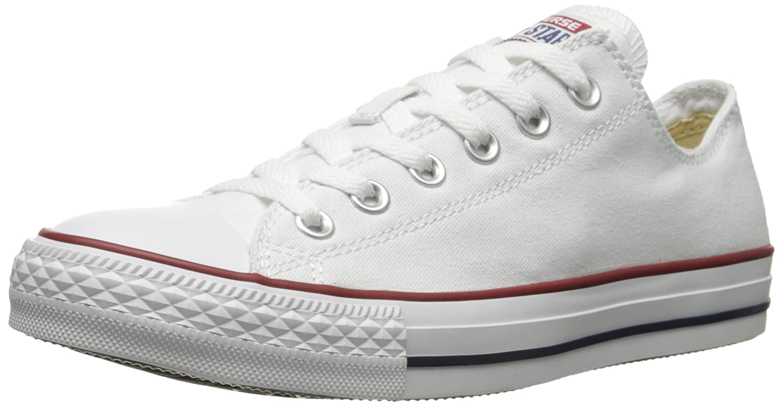 Converse Men's All Star Chuck Taylor M7652 Optical White M7652 Canvas Lo Ox - MEN 14 M US / WOMEN 16 M US