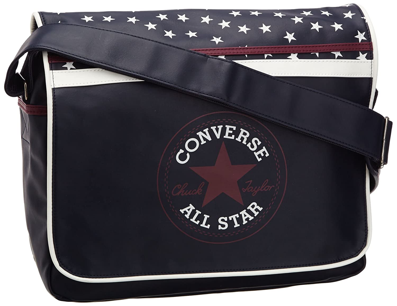 Converse Vintage Patch Shoulder Flap Bag Tasche Chocolate Brown 59