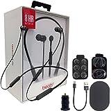 Beats by Dr. BeatsX Wireless In-Ear Headphones - Black - With Fast Key 2.4 Car Adapter & Ear Gel,Lighting USB Kit (Certified Refurbished) (Color: Black)