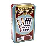 Double Nine Dominoes Tin (Color: Multi-colored, Tamaño: 5