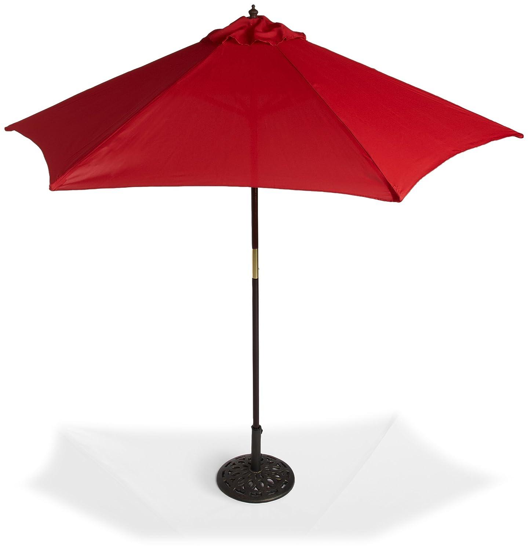 Wind Resistant Patio Umbrella Corliving Wind Resistant