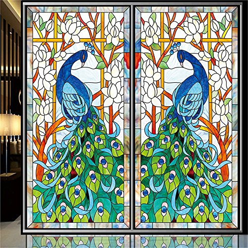 ostepdecor-custom-peacock-translucent-non-adhesive-frosted-stained-glass-window-films-18-w-x-36-h-on