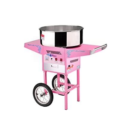 Great Northern Popcorn Commercial Quality Cotton Candy Machine and Electric Candy Floss Maker with Cart: Amazon.ca: Kitchen & Dining