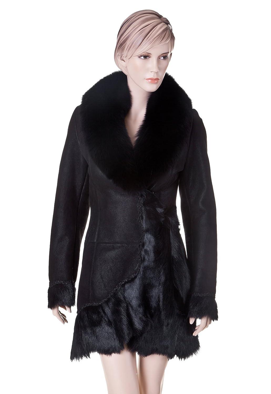 Diana Lederjacke Lammfelljacke günstig kaufen