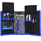 80 in 1 Precision Screwdriver Set with Magnetic Driver Kit, Professional Electronics Repair Tool Kit with Portable Oxford Bag for Repair Cell Phone, iPhone, iPad, Watch, Tablet, PC, MacBook and More (Tamaño: Full Size)